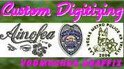Custom Logo Embroidery Digitizing By Vodmochka Graffix