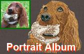 Embroidery Portrait Digitizing - Sample Album #3