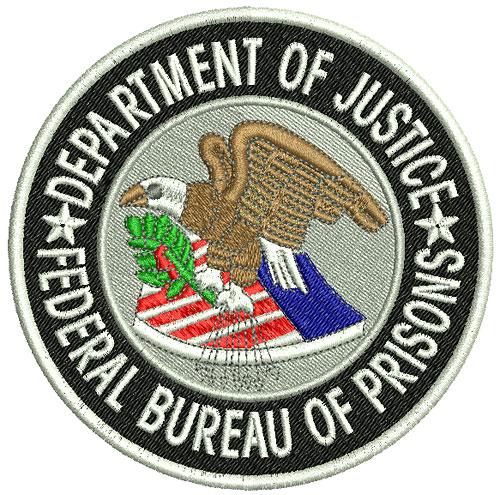 Vodmochka embroidery digitizing pictures law enforcement for Bureau of prisons