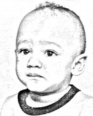Child Portrait - Original Photo